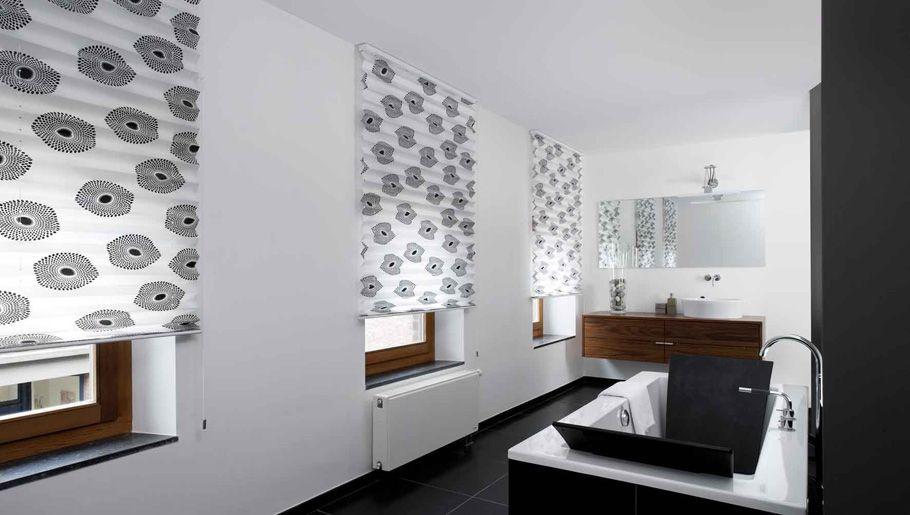 Hochwertiger Sonnenschutz, Sichtschutz und Lichtschutz - Lamellenvorhang - Senkrechtlamellen - Bedruckte Plissees für ein behagliches Raumambiente